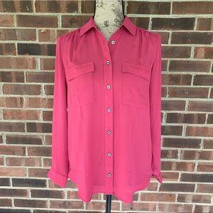 NWOT Ann Taylor button down blouse